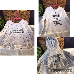 Zara girl Bundle tops